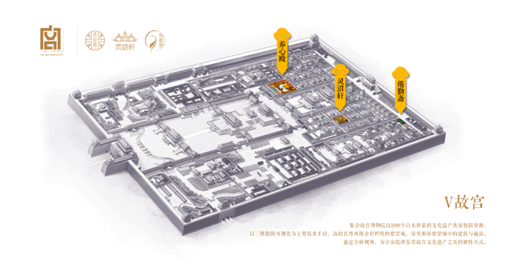 Forbidden City Virtual Tour App V故宫